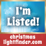 Christmas Light Finder logo