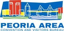 Peoria Area Convention and Visitors Bureau Logo