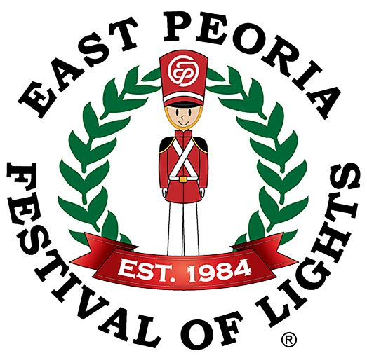 East Peoria Festival of Lights Logo