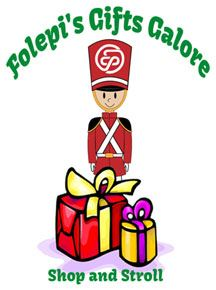 Folepi's Gifts Galore Shop and Stroll Logo
